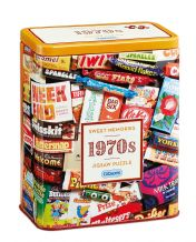 1970's Sweet Memories - 500pc Jigsaw Puzzle in a Tin